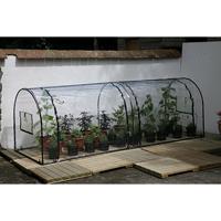 Polyetenskydd till bågväxthus Grower, Plasthuva till drivhus Grover