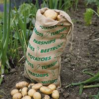 Jutesäck för rotfruktsförvaring-Jutesäck för rotfruktsförvaring