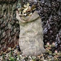 Kompostsäck i jute, 3-pack, Säck för kompostering av löv