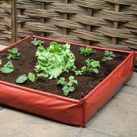Instant Raised Bed 1 m2-Ihopfällbar planteringslåda