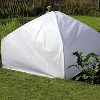 Lanterna minidrivhus - Fiberduk, Uppfällbart odlingsskydd för köksträdgården