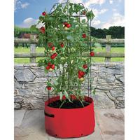 Odlingsäck för tomat med växtstöd-Odlingssäck för högväxta tomater