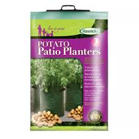 Potatisodling för balkong och terrass, 3-pack,