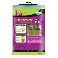 Odlingssäck Vigoroot 20L, 3-pack, Odlingssäck vigoroot utan rotsnurr