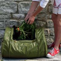 Kompostbehållare - rullkompost RollMix composter, Grön