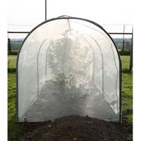 Micromeshskydd till bågväxthus
