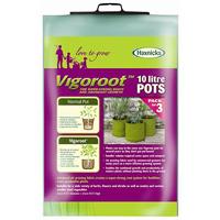 Odlingssäck Vigoroot 10L, 3-pack,