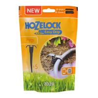 Markhållare universal, 5-pack, Flexibel markhållare från hozelock