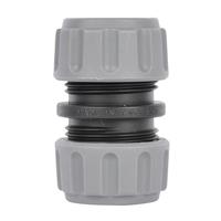 Skarvkoppling till 13mm slang, 2-pack, Vattentät anslutning till 13 mm slangar.