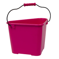 Hink Trican Fashion 17 L, cerise-Ergonomisk trädgårdshink Trican 17 liter
