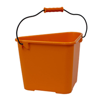Hink Trican Fashion 17 L, orange-Ergonomisk trädgårdshink Trican 17 liter