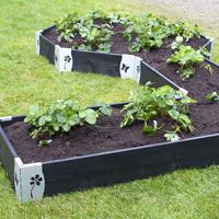 Odlingskrage byggsats - bräda 120 cm-Bräda till byggsats odlingskrage
