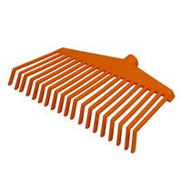 Trädgårdsräfsa ergonomisk, orange-Ergonomisk trädgårdsräfsa, orange