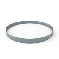 Planteringskant cirkel aluzink, 120x1400 mm-Planteringskant i aluzink 120 mm cirkel 1400 mm