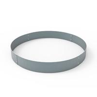 Planteringskant cirkel aluzink, 120x900 mm-Planteringskant i aluzink 120 mm cirkel 900 mm