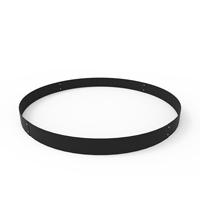 Planteringskant cirkel svart, 120x1400 mm-Planteringskant i svart 120 mm cirkel 1400 mm