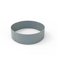 Planteringskant cirkel aluzink, 180x560 mm-Planteringskant i aluzink 180 mm cirkel 560 mm
