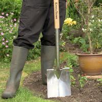 Trädgårdsspade från Kent & Stowe