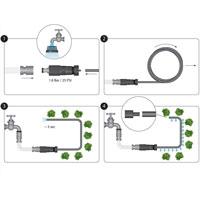 Flopro droppbevattning för rabatt och köksodling, bild 5