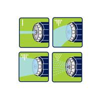 Multi sprutmunstycke Flopro+ för bevattning, bild 5