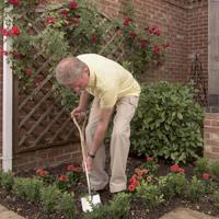 Lättviktsspade för trägården