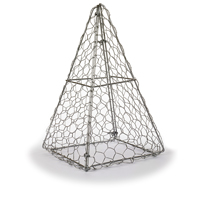 Formklippningsmall, Pyramid Topiary Frame-Pyramid Topiary Frame - formklippningsmall för buxbom mfl