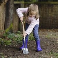 Storleksanpassad grävspade för barn