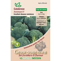 Broccoli, Ironman F1, Fröpåse till Broccoli, Ironman F1