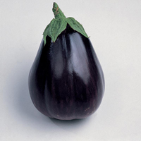 Aubergine Black Beauty, organic-Ekologiskt frö till Aubergine Black Beauty
