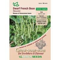 Fransk dvärgböna, Mascotte, Fröpåse till Fransk dvärgböna, Mascotte