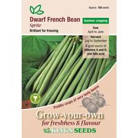 Fransk dvärgböna, Sprite, Fröpåse till Fransk dvärgböna, Sprite