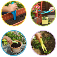 Multiredskap Klara Twool, green, Klara Twool redskap för plantering, rensning och luckring