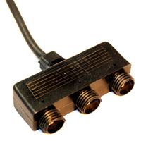 Grenkoppling - 3 uttag, Grenkoppling - LED Plug&Play