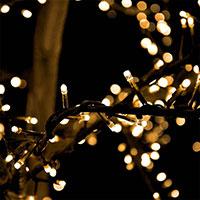 Ljusslinga Cluster 3m - LED Garden Plug & Play
