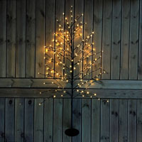 Taiga - LED Garden Plug & Play-Dekorationsträd med LED-ljuspunkter för trädgården