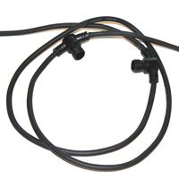 Förgreningskabel 10m med 10 uttag-Förlängningskabel LED Plug&Play - trädgårdsbelysning