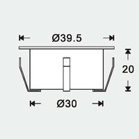 Decco 5-pack - LED Garden Plug & Play, Måttspecifikationer för decco trädgårdsbelysning