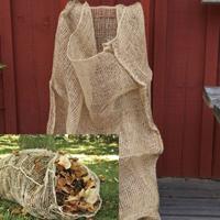 Lövsäck 'Love ém and leave 'em'-Snygg och praktisk säck i jute för kompostering av löv