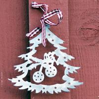 Julpynt Gran, liten, julpynt gran