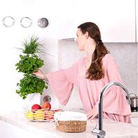 Minigarden One, vertikalodling av örter i köket