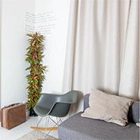 Växtvägg i sovrummet Minigarden Corner Column