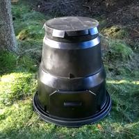 Sverigekomposten-Kompostbehållare för trädgården