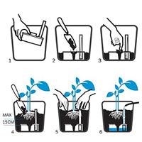 Långtidsbevattning, Mona Tank  10, Skiss, långtidsbevattning Mona Plantsava