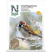 Vildfågelmix kvalitet, 1kg-Föda till småfåglar