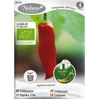 Chilipeppar Hungarian Hot wax, Organic-Ekologiskt frö till chillipeppar, Hungarian hot wax