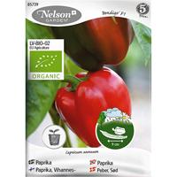 Paprika Dan F1, Organic-Ekologiskt frö till röd paprika, Dan F1