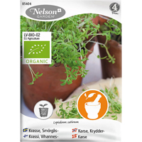 Smörgåskrasse, Organic-Ekologiskt frö till smörgåskrasse