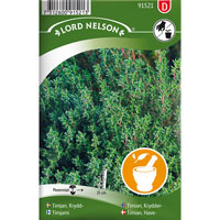 Kryddtimjan-Frö till Kryddtimjan, Thymus vulgaris L.
