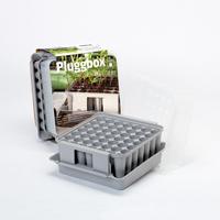 Pluggbox - pluggbrätte med miniväxthus