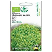 Sallad Organic BioSeed Lollo Bionda, Fröer till bladsallad  Lollo Bionda, organiskt odlat